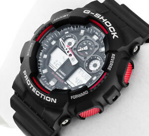 Casio-G-Shock-Velocity-Indicator-X-Large-Series-Men-039-s-Watch-GA-100-1A4-GA100-NEW
