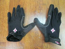 SPECIALIZED BODY GEOMETRY BG WOMENS CYCLING GLOVES XL EXTRA LARGE BLACK & PINK