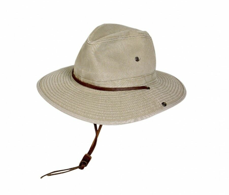Hat  Safari 100% Cotton Size L (58 59) Sun Hat Safari Hat  in stock