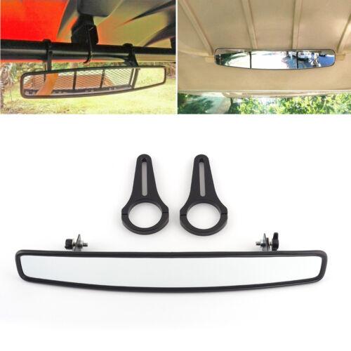 UTV Wide Rear View Race Convex Mirror for Polaris RZR S900 XP 4 1000 2013-17 15