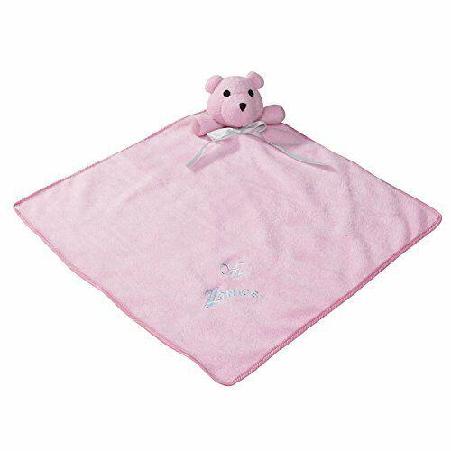 Pink Zanies Snuggle Bear Blanket Dog Toys