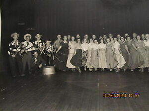 Vintage Photo Servel Square Dance Club Evansville IN With ...