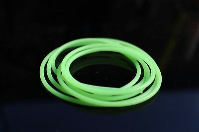 3.8mm silicone hookguide soft hook tubing plastic tubes fly tying materials