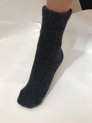 anthrazit,warme mongolische Yak Wolle,unisex YAKWOLLE Socken ab Größe 40 bis 48