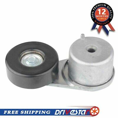 DRIVESTAR OE-Quality New Belt Tensioner with Pulley for Buick Chevy Pontiac 2.8L 3.1L 3.4L