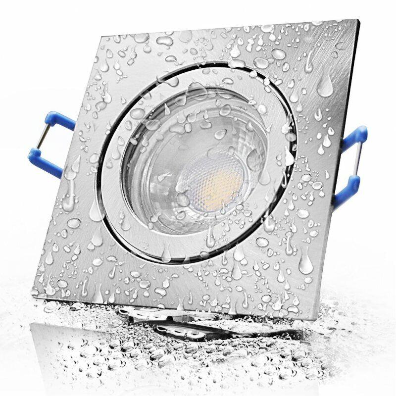 12V IP44 LED Einbauleuchten Sets für Bad + Dusche + Feuchtraum - Innen + Aussen