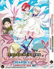 DVD Japan Anime Akagami no Shirayukihime Complete Season 2 (1-12) English Sub
