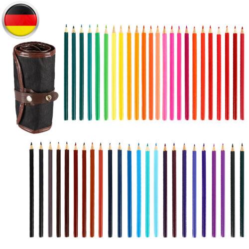 30//32//48//52-tlg Zeichenstifte Set Buntstifte Farbstifte Skizzierstifte Malstifte