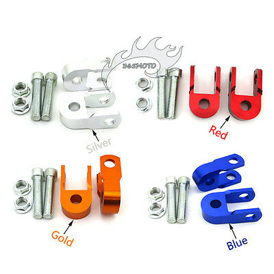 Motorcycle Motorbike Alloy Shock Absorber Height Extension Extender Riser