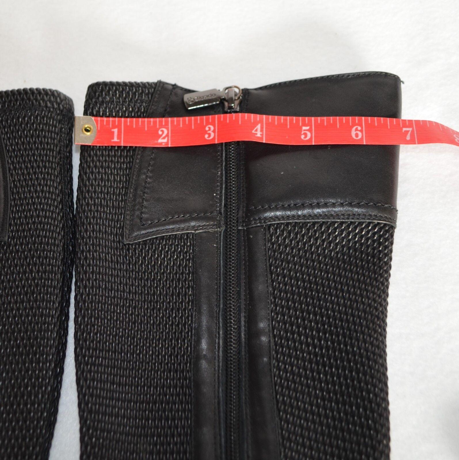 Blondo para Mujer Equitación Motorista Bota Negro Enya hasta las las las rodillas Cremallera Impermeable 7M 0abb17