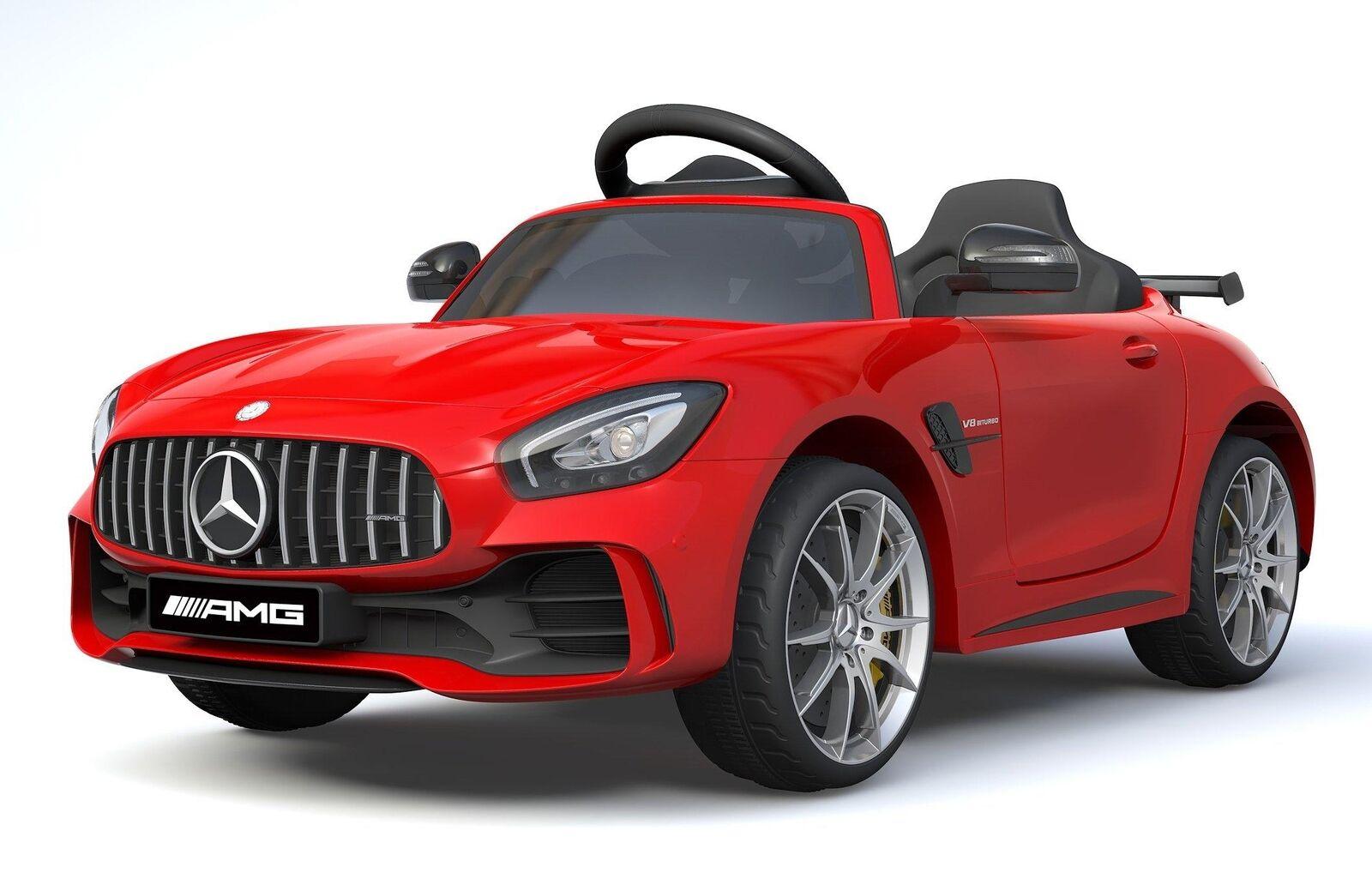 Lizenzierte Mercedes Benz GTR 12V Motoren Kinder Elektro-Fahrt auf Auto Rot