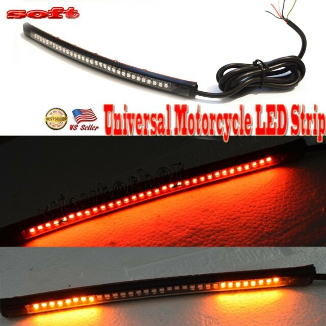 Universal motorcycle tail brake stop turn signal integrated led light strip universal motorcycle tail brake stop run turn signal integrated led light strip aloadofball Gallery