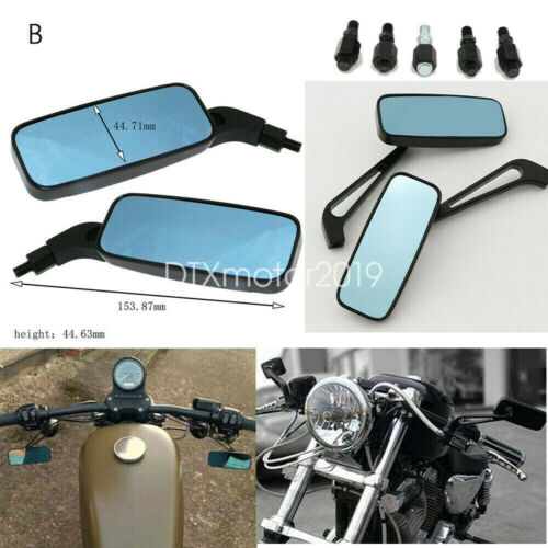 2pcs Motorcycle Rearview Mirrors For Harley Davidson Street Glide FLHX Touring