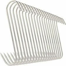 20 Pieces 5 Meat Hooks Stainless Steel Butcher Hooks For Meat Processing New