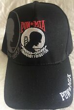 US U.S. Military POW MIA PRISONER WAR embroidered Baseball hat cap adjustable