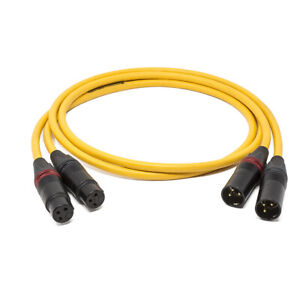 Van den Hul D-102 Mkiii H Pair Of Cables Balanced, Completed XLR New
