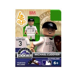 MLB-Colorado-Rockies-Michael-Cuddyer-Generation-3-Toy-Figure-NEW-Toys-Baseball