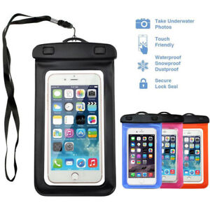 Swimming Waterproof Underwater Pouch Bag Pack Dry Case Cover For Cell Phone