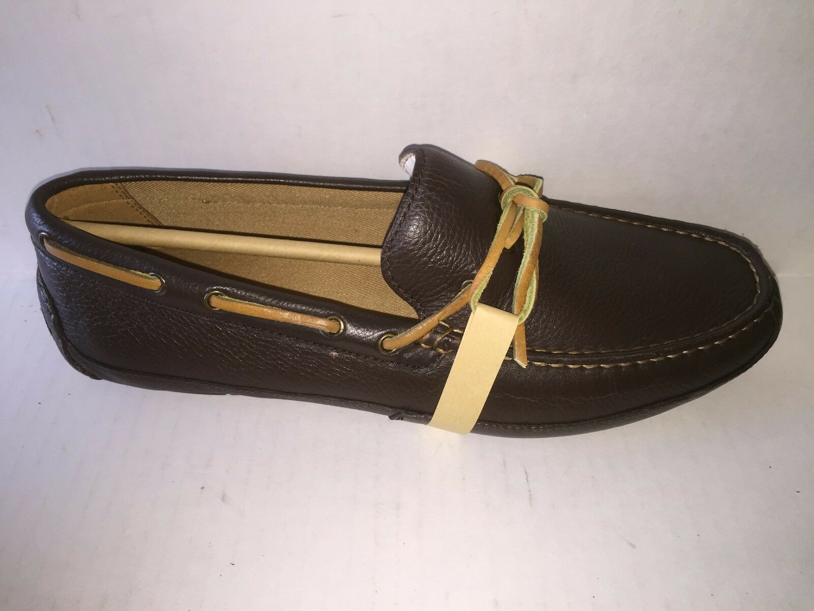 Cole Haan Halsted Camp Moc Brown, C12224, new in box, comfortable stylish shoes