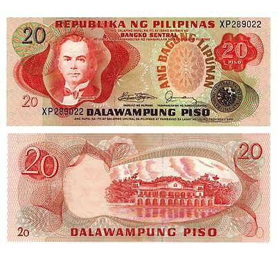 Paper Money: World Philippines/philippines 20 Piso 1978 Pick 162c Unc 386541 ## Coins & Paper Money
