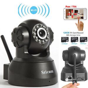 720P HD Wireless IR Night Vision Network P2P WiFi IP Security Camera Webcam Cam