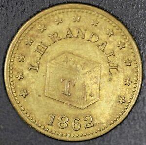 1864-L-H-Randall-Wholesale-amp-Retail-Grocer-Grand-Rapids-Civil-War-Store-Token