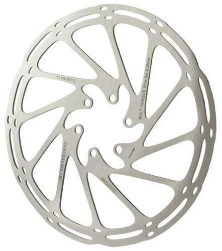 SRAM Centerline 180mm One Piece 6-Bolt Disc Rotor  MTB
