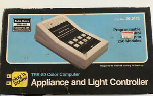Radio-Shack-TRS-80-Color-Computer-Appliance-and-Light-Controller