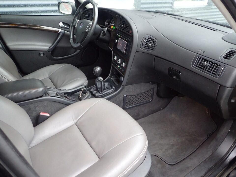 Saab 9-5 2,3 TS Aero Sport Sedan Benzin modelår 2007 km
