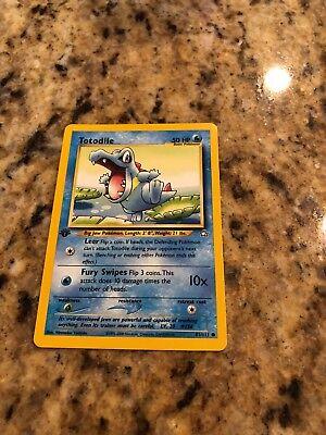 Totodile 81//111 NM 1ST EDITION Neo Genesis Pokemon Card $1 Flat Shipping