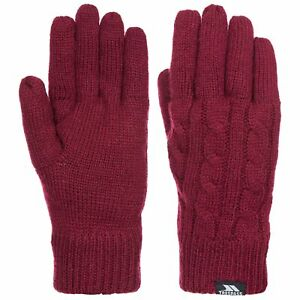 Trespass-Sutella-Womens-Knitted-Insulated-Gloves-For-Winter