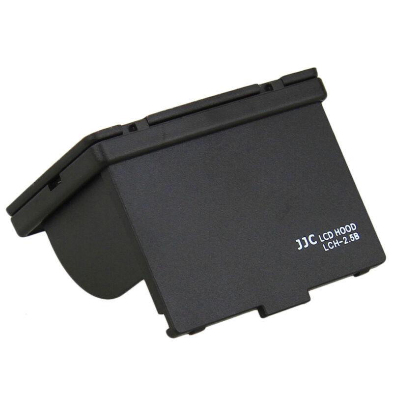 JJC Camera Universal LCD Hood Fits 2.5inch LCD Display 3-Sided Canopy Ultra-Slim