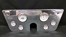 1967 1968 1969 1970 1971 1972 CHEVY TRUCK GAUGE CLUSTER WHITE 3 3/8