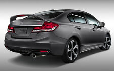 2013-2015 PAINTED REAR TRUNK LIGHTED SPOILER FOR A HONDA CIVIC 4DR SEDAN