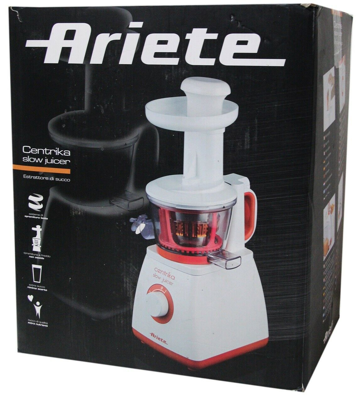 Ariete centrika slow juicer toupie fruits Tiger ng692 A -