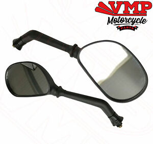 Motorcycle Mirror Pair Left Right Rear View Mirrors For Triumph Tiger 1050 750