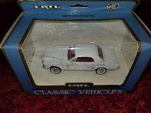 Vintage-ERTL-1964-Mustang-Die-Cast-1-43-Metal-Replica-1988-MIP-NOS