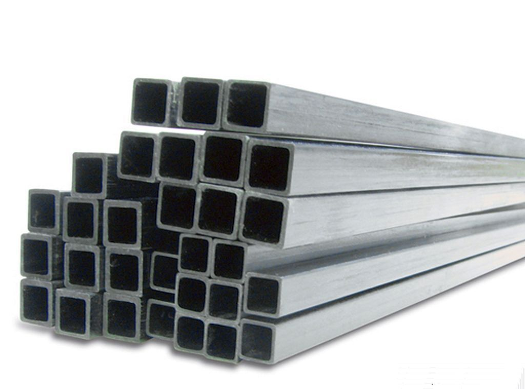 5x 10mm x 10mm x 800mm Square Inside Pultruded Carbon Fibre Tubes (SQ10)