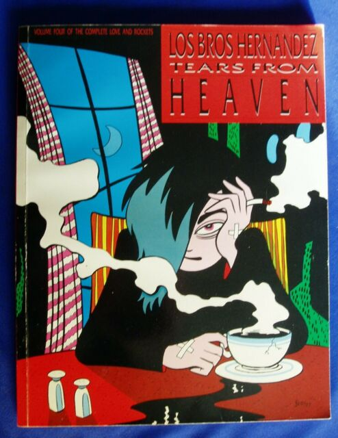 Love & Rockets collected 4. Tears From Heaven. Los Bros Hernadez. 1st edn VFN