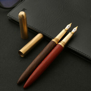 Am-Vintage-0-7mm-Nibs-Handcrafted-Wood-Fountain-Pen-Signature-Writing-Business
