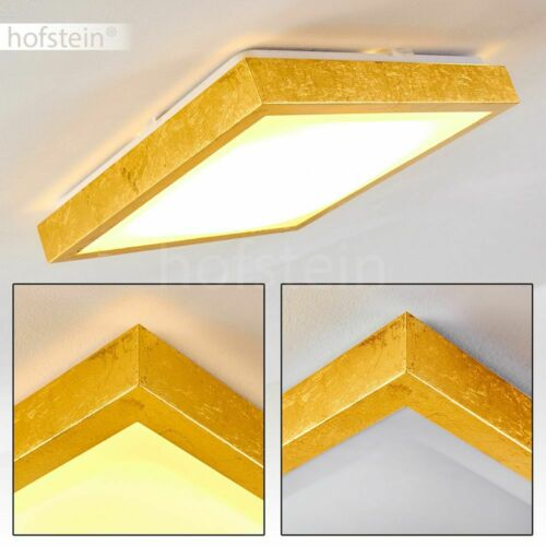 Goldfarbene Luxus LED Decken Leuchten Flur Wohn Schlaf Bade Zimmer Beleuchtung