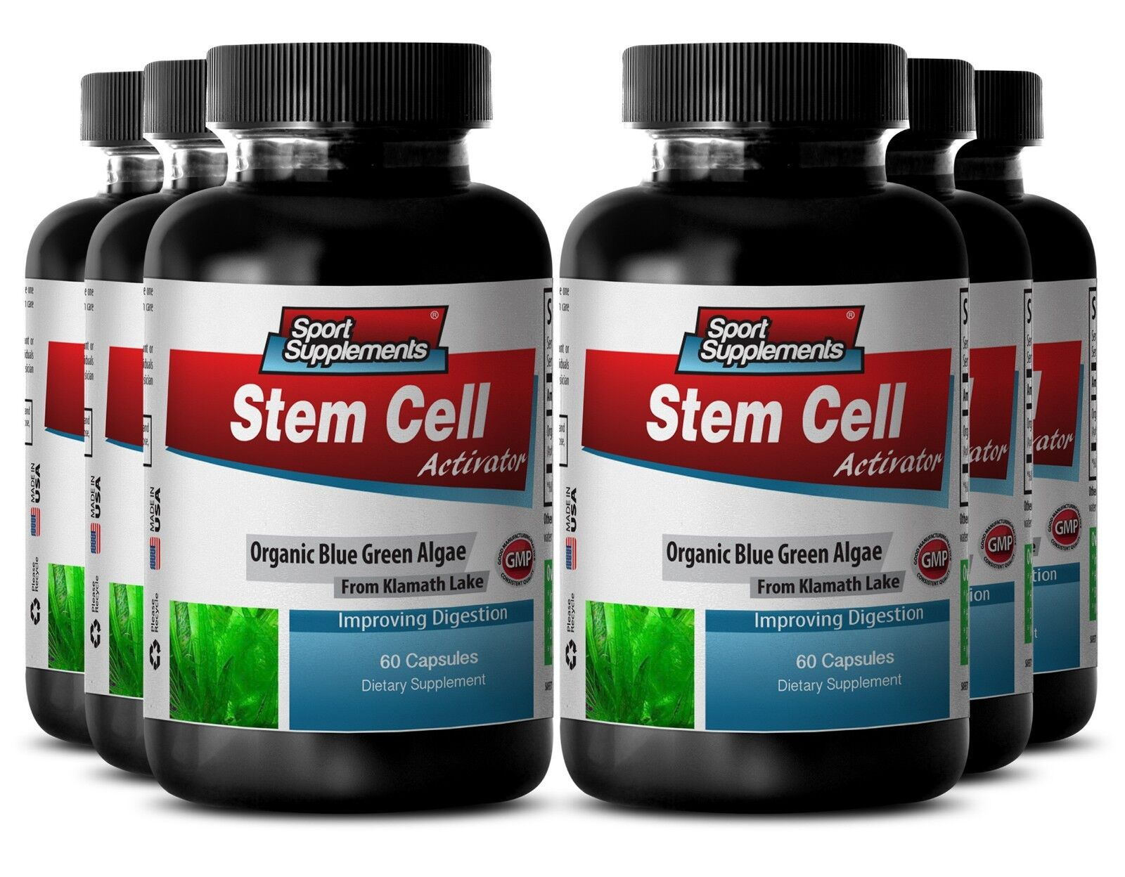 Klamath - Stem Cell Activator 500mg - Boost Mental Clarity Capsules 6B