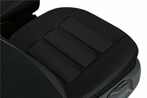 a, B, C, D, E Cubierta de asiento delantero estera de Eco Cuero y Tela se ajusta Vauxhall Corsa