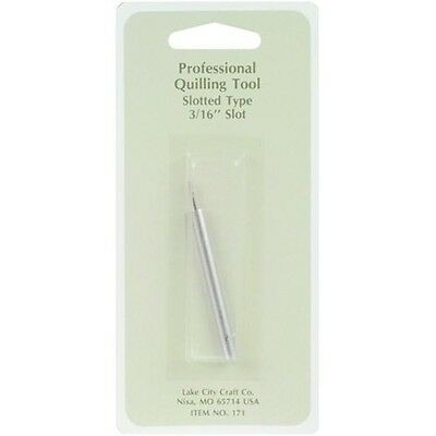 """Lake City Craft Professional Quilling Tools 3/16"""" Slotted Tool - 212935"""