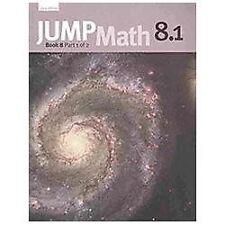 JUMP Math 8.1: Book 8, Part 1 of 2