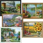 Royal Brush Scenic World Views Set of 5 Paint-by-Number Kit