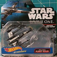 16 Hot Wheels Star Wars Die-cast Starships: Rouge One Partisan X-wing Fighter