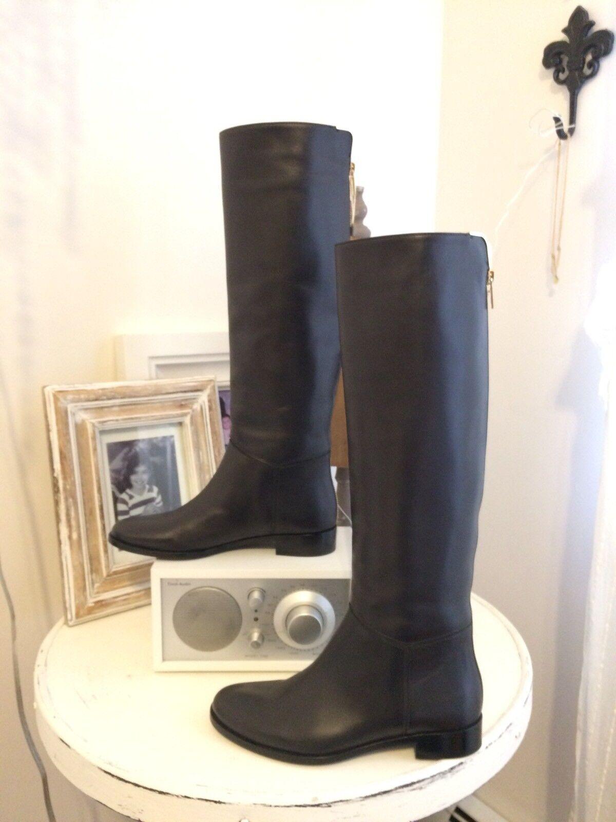 rotUCED  LANVIN Stiefel PRICED TO SELL  schwarz leather Größe 5.5 US, 35.5 EU