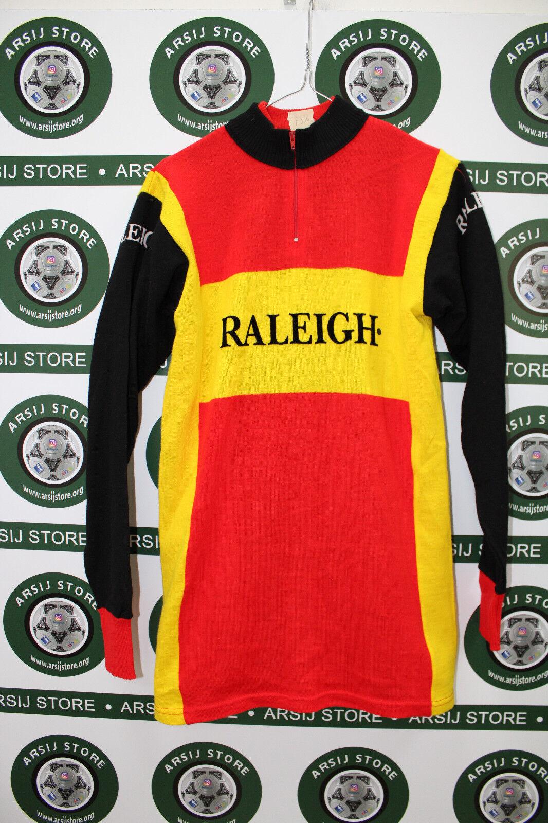 Maglia ciclismo bike shirt maillot camiseta trikot RALEIGH COLNAGO TG 3 F834