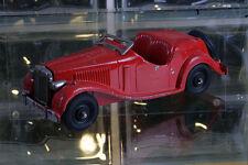 HUBLEY KIDDIE # 432 Vintage Pressed Metal Red Convertable Roadster Made In USA